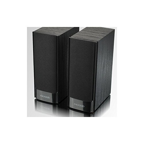 Microlab Aktivbox B56 2.0 PC-Lautsprecher Holz-schwarz