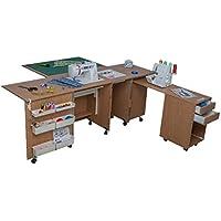 Comfort 4   Muebles para máquinas de coser y overlock   (Lakeland Acaia Light,