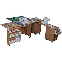 Comfort 4 | Muebles para máquinas de coser y overlock | (Lakeland Acaia Light,