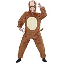 Widman - Disfraz de mono adultos, talla M (S/9943A)