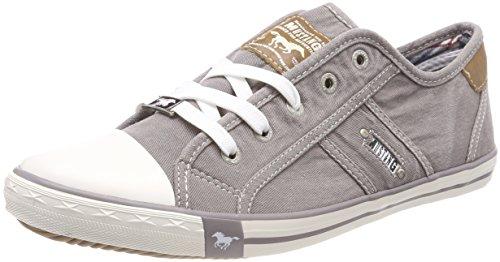 MUSTANG Damen 1099-302-932 Sneaker, Grau (Silbergrau 932), 41 EU