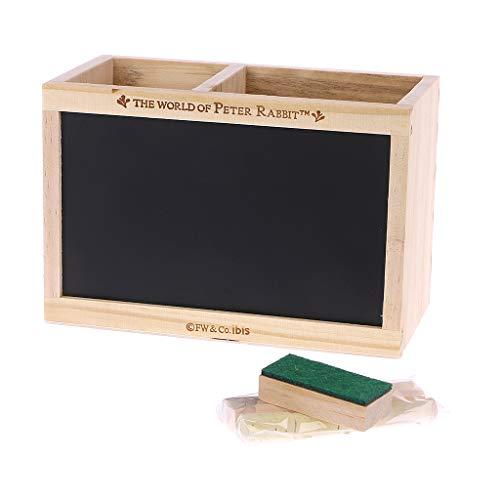 NKYSM Stifteköcher Desktop Kleinigkeiten Aufbewahrungsbox mit Message Board, Schreibtischorganizer für Schulamt Schreibwaren Geschenk (#1)
