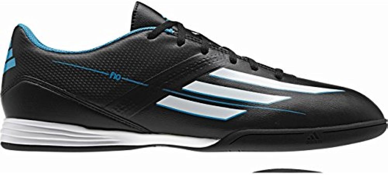 Adidas Schuhe Hallenfussballschuhe F10 Fußballschuhe IN black1/runwh -