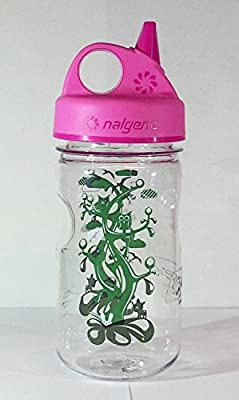Nalgene 'Everyday Grip-n-Gulp' - 0,35 L, transparent, Deckel pink