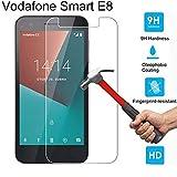 Slri Panzerglas Schutzfolie für Vodafone Smart E8 N8, Glas Displayschutzfolie, Anti-Kratzer, Anti-Öl, Anti-Bläschen - für Vodafone Smart E8