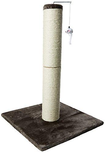 Un poste rascador para gatos Ultima muy elegante y de alta calidad, que no sólo es decorativo, sino que estimulará el comportamiento natural del gato, para que rasque, trepe, se esconda y se estire. Ya sea para hacer ejercicio, descansar o jugar, a t...