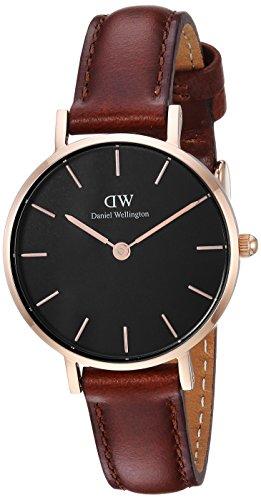 Daniel Wellington Unisex Analogue Quartz Watch with Leather Strap DW00100225