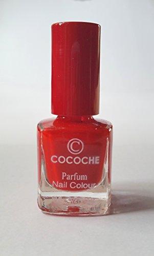 NEW Nail Art cocoche Parfum Rouge avec Rose Aroma Nail Colour Vernis à ongles Parfum