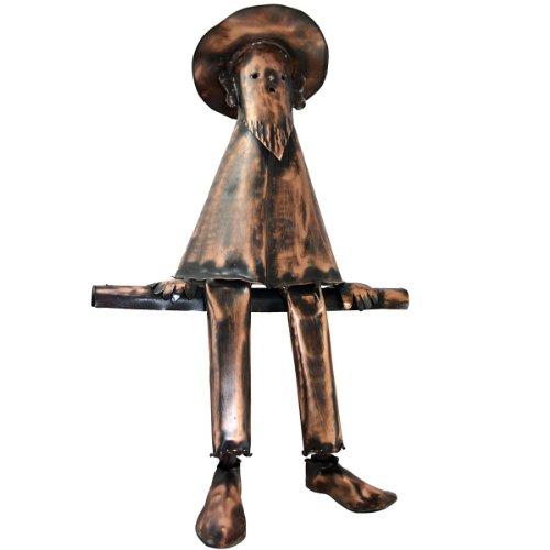 Kupferfigur Mann für die Dachrinne, 47 cm
