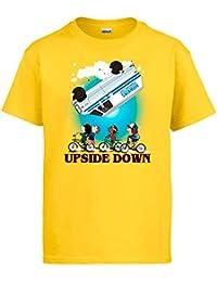 Diver Camisetas Camiseta Stranger Things niños Furgoneta levantada Upside Down