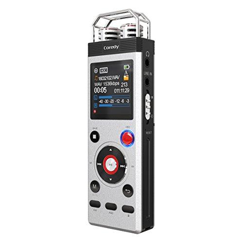 Registratore Vocale Digitale 8 GB Coredy CR-B5 Radio FM USB Diretta Memoria Incorporata - Tascam Nastro