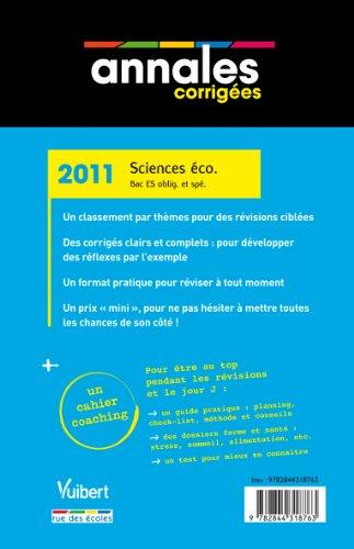 Sciences économiques et sociales Bac ES