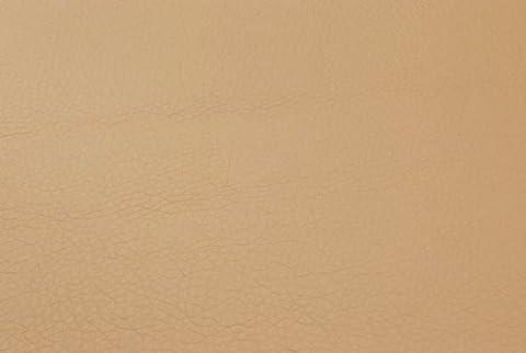 Tissu simili cuir BOSS beige Tissu d'ameublement tissu au