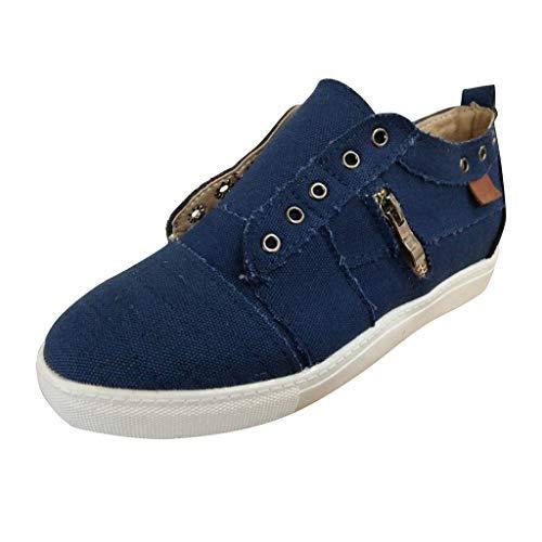 Schuhe Damen Atmungsaktiv Mokassins Leder Bootsschuhe Loafers Flache Halbschuhe Freizeit Erbsenschuhe von ()