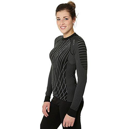 Craft Active Intensity Crewneck Longsleeve Shirt W Damen black/Granite