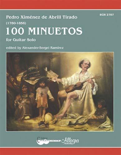 Partitions classique CHANTERELLE XIMENEZ DE ABRIL TIRADO P. - 100 MINUETOS - GUITARE Guitare par  CHANTERELLE