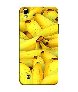 Fuson Designer Back Case Cover for LG X Power :: LG X Power K220DS K220 (Big Size Bananas Healthy Fruits Sticks )
