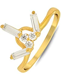 P.N.Gadgil Jewellers Lavanya Collection 22k (916) Yellow Gold Ring - B01MA3BVG7