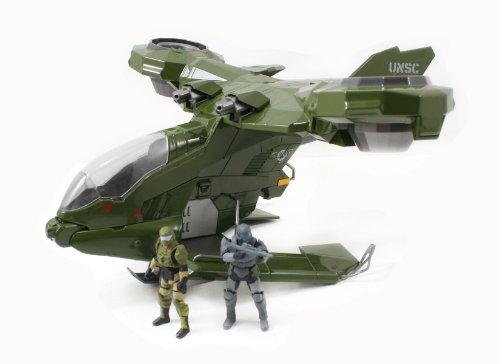Halo 4 Diecast Fahrzeug Serie 1 UNSC Hornet 25 cm mit 2 Figuren