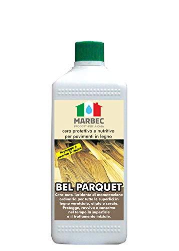 Marbec - bel parquet 1lt | cera protettiva e nutritiva per pavimenti in legno