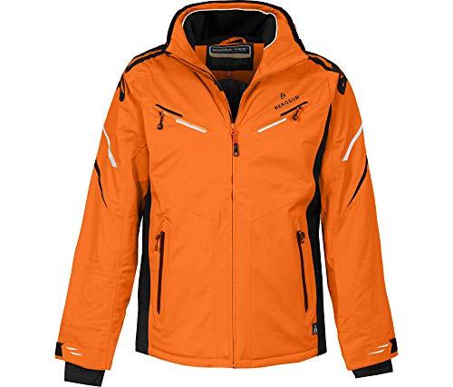 Bergson Herren Skijacke District, Persimmon orange [513], 50 - Herren