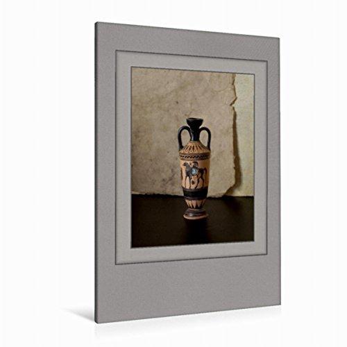 Premium Textil-Leinwand 80 cm x 120 cm hoch Ein Motiv aus Dem Kalender Arznei Fayencen | Wandbild, Bild auf Keilrahmen, Fertigbild auf Echter Leinwand, Leinwanddruck
