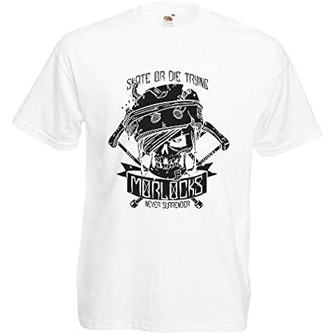 N4605 Camiseta Skate or Die Trying