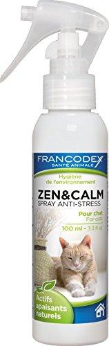 Francodex - Spray apaisant ZEN ET CALM pour CHAT 100ml