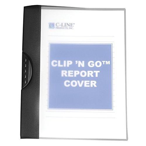 Line Clip 'n Go Swing Clip Bericht, NeXXt, 30Blatt für 21,6x 27,9cm fügt, 24Stück Bericht umfasst, Frosted Premium 1 Stück Frosted/Assorted