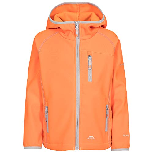 Trespass Kinder KIAN Softshell-Jacke, Sunset, 7/8