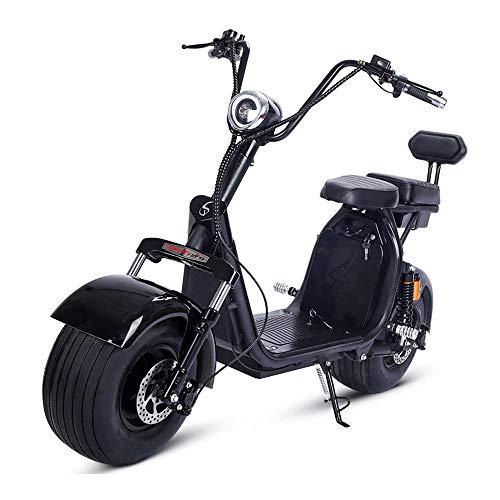 LMJ-XC Harley Elektroauto Skateboard Lithiumbatterie Harley Elektro Walker 60V 1500W Dualbatterie abnehmbare Lithiumbatterie (1500w Elektro-roller)