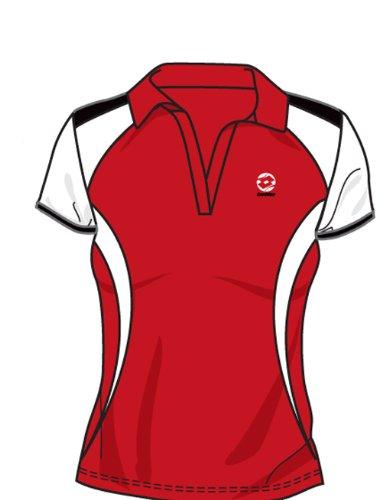 Lotto Polo WTA Tour Ellas , Damen, Gr. XL (US), flame/white