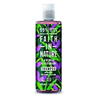 Faith in Nature Natural Lavender & Geranium Shampoo, Nourishing, Vegan & Cruelty Free, Parabens and SLS Free, Normal to…