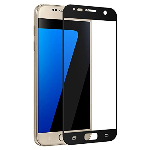 Panzerglas Schutzfolie kompatibel Full Cover Tempered Glass for S7 S6 S5 S4 S3 Note 3 4 5 J3 7Pro J7 J5 Primecolorful Full Screen Protector Toughened Film for Galaxy S6 Gold