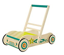 roba walker, wooden play and walker with brake