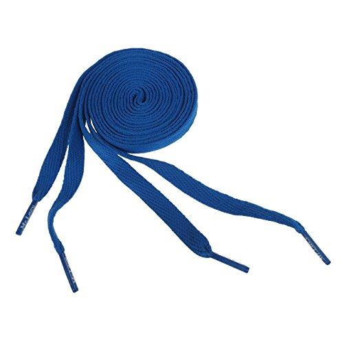 Mr lacy - Flaties royal 130cm - Lacets - Bleu moyen - Taille Unique
