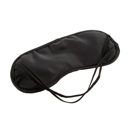 Augenmaske Komfortable Schlafmaske für die Erholung Entspannen Reisen Modische Männer Frauen Reisen Schlafmittel Augenmaske Augenklappe - Schwarz - Entspannen Medizin