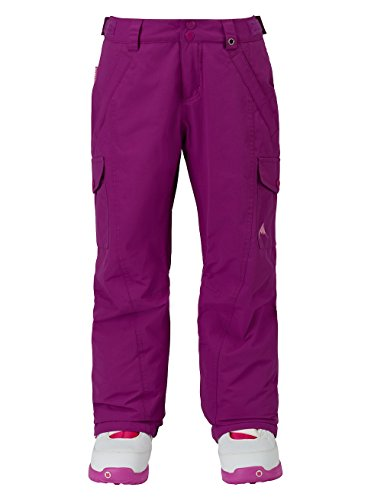 Burton Mädchen Elite Cargo Pant Snowboardhose, Grapeseed, S | 09009520697050