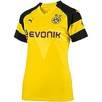 Puma Damen Bvb Wms Home Shirt Replica Evonik with Opel Logo Trikot