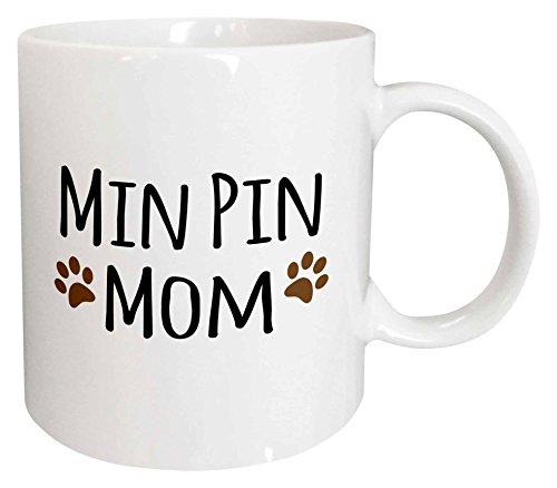 Mensuk mug_154159_4 Min Pin Dog Mom Miniature