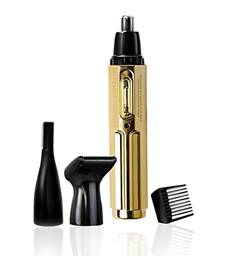 Rozia®© HD102A 3 in 1 Nose Trimmer Eyebrow Trimmer Facial Hair Trimmer