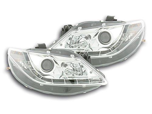 Akhan AT79424 Jeu de phares,, Lumière du jour, Convient pour Ibiza type 6J 08- chrom