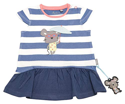 Sigikid Mädchen, Baby Kleid, Blau (Colony Blue 539), (Herstellergröße: 92)