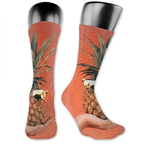 Sunglasses Pineapple Socks is Best Graduated Athletic & Medical for Men & Women, Running, Flight, Travels Socks