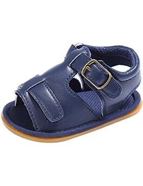 IGEMY - Zapatos con tacón para bebés, unisex