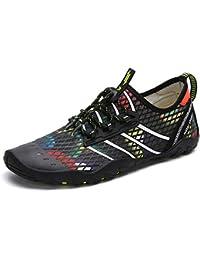 83e6c76351e Zapatos de Agua Hombre Mujer Zapatillas para Playa Surf Natación Calzado  Piscina Secado Rápido Escarpines