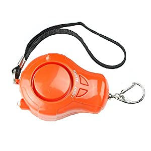41XR2I3PfhL. SS300  - Self-Defence Electronic Personal Security Keychain Alarm with LED Light - Orange