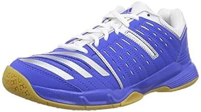adidas Essence 12 Herren Handballschuhe, Blau (Blue/Blue/Ftwr White), 42 EU