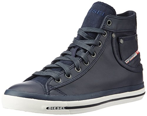 Diesel Herren Magnete Exposure I-Sneaker Hohe, Blau (T6065-Blue Nights PR052), 45 EU (Strass-pocket-jeans)