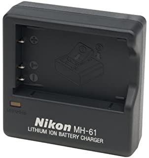 Nikon MH 61 Battery Charger for Coolpix 3700 4200 5200 and P Series Digital Cameras